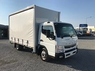 NEW Fuso Canter 616 Curtainsider