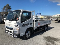 2018 Fuso Canter 616 AWD Flat Deck